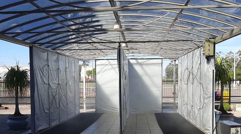 Túneis e cabines de desinfecção de pessoas contra o novo Coronavírus: por que não são confiáveis?